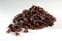 Landscaping Brown  rubber chippings